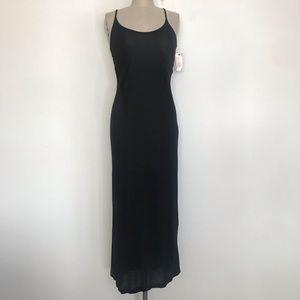 Philosophy M black maxi dress